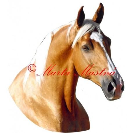 Samolepka kůň isabel