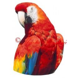 Samolepka ara, papoušek