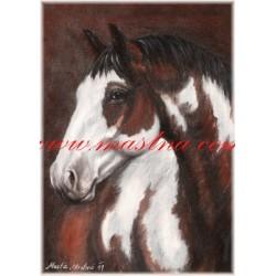 Autorský tisk paint horse