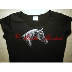 Malované tričko arab