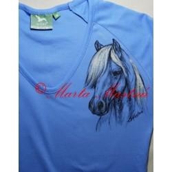 Malované tričko pony