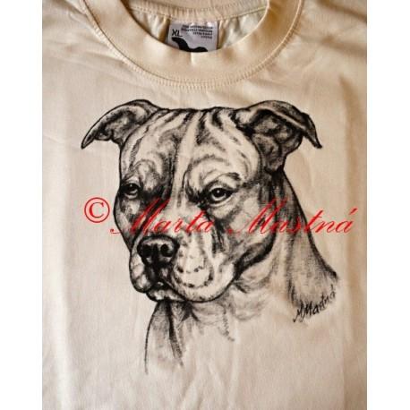 Malované tričko staford