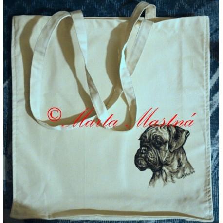 Malovaná taška boxer