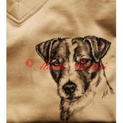 Malované tričko Jack Russel teriér