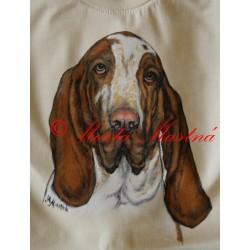 Malované tričko italský ohař