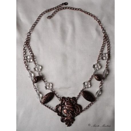 Ketlovaný náhrdelník v secesním stylu