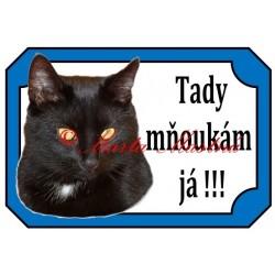 Tabulka kočka