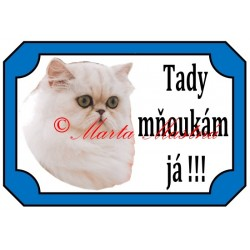 Tabulka kočka perská