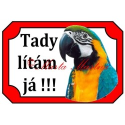 Tabulka papoušek ara