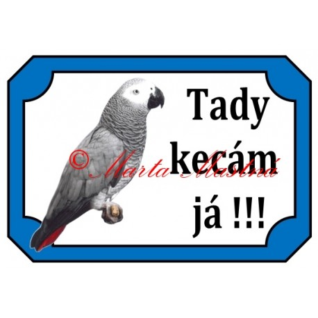 Tabulka papoušek žako