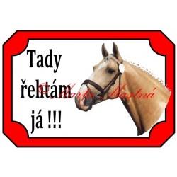 Tabulka kůň Kinský