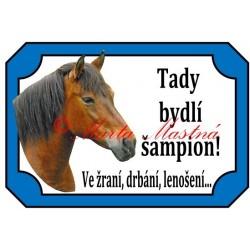 Tabulka kůň hucul