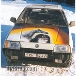 Malba na auto