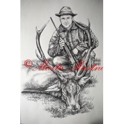 Kresba lovce
