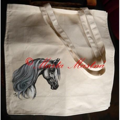 Malovaná taška kůň