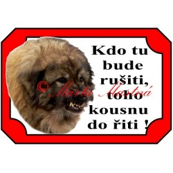 Tabulka šarplaninec, kavkazský pastevecký pes