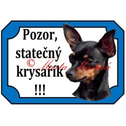 Tabulka pražský krysařík