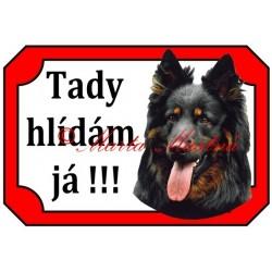 Tabulka chodský pes