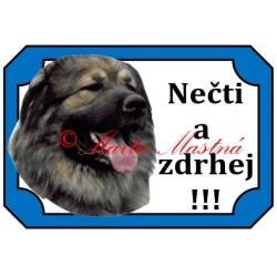 Tabulka kavkazský pastevecký pes