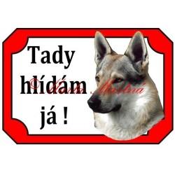 Tabulka československý vlčák