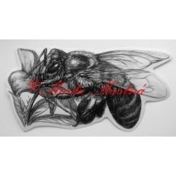 Samolepka včela