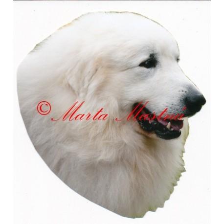 Samolepka pyrenejský horský pes