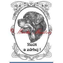 Tabulka rotvajler, rotweiler