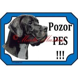 Tabulka německá doga