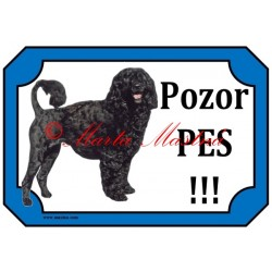 Tabulka portugalský vodní pes