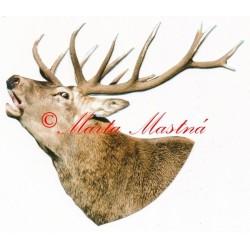 Samolepka jelen