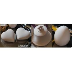 Zvonečky, srdíčka a vajíčka