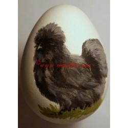 Vajíčko slepice hedvábnička