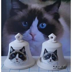 Zvonek kočka - na prodej je napravo