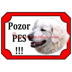 Tabulka slovenský čuvač