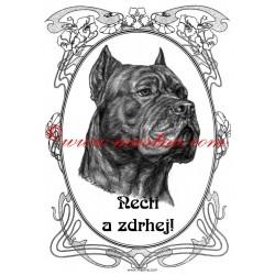 Tabulka asiat, středoasijský pastevecký pes