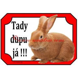Tabulka králík beran