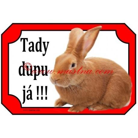 Tabulka králík burgundský
