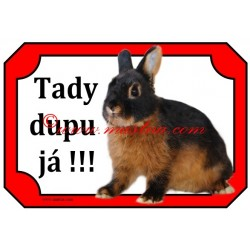 Tabulka králík zakrslý tříslový