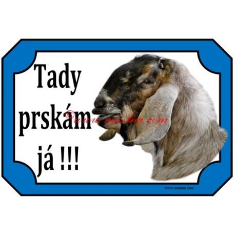 Tabulka kozel anglonubijský