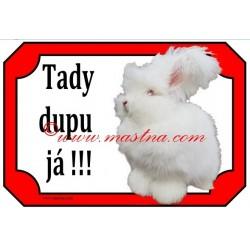 Tabulka králík angorský, angora