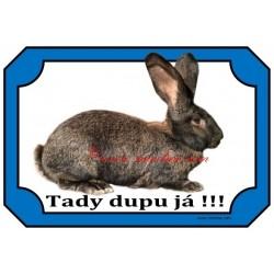 Tabulka králík belgický obr železitý
