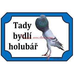 Tabulka holub brněnský voláč