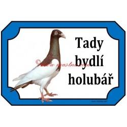 Tabulka holub krakovská straka