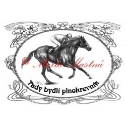 Tabulka plnokrevník, kůň, koně