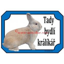 Tabulka králík český luštič