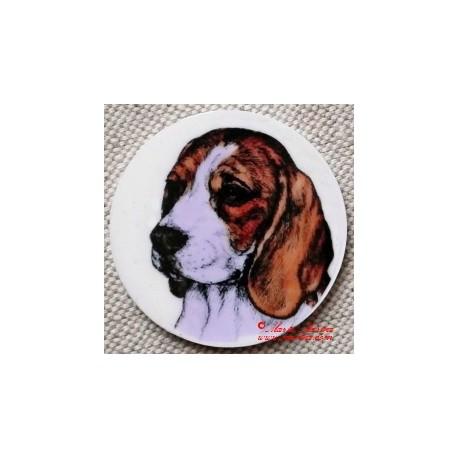 Bígl, beagle magnet nebo placka