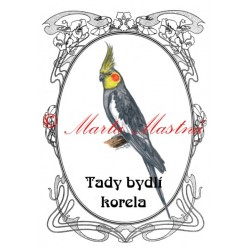 Tabulka papoušek korela