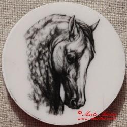 Kůň andaluzan magnet nebo placka
