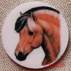 Kůň fjordský magnet nebo placka