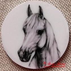 Kůň shagya arab magnet nebo placka